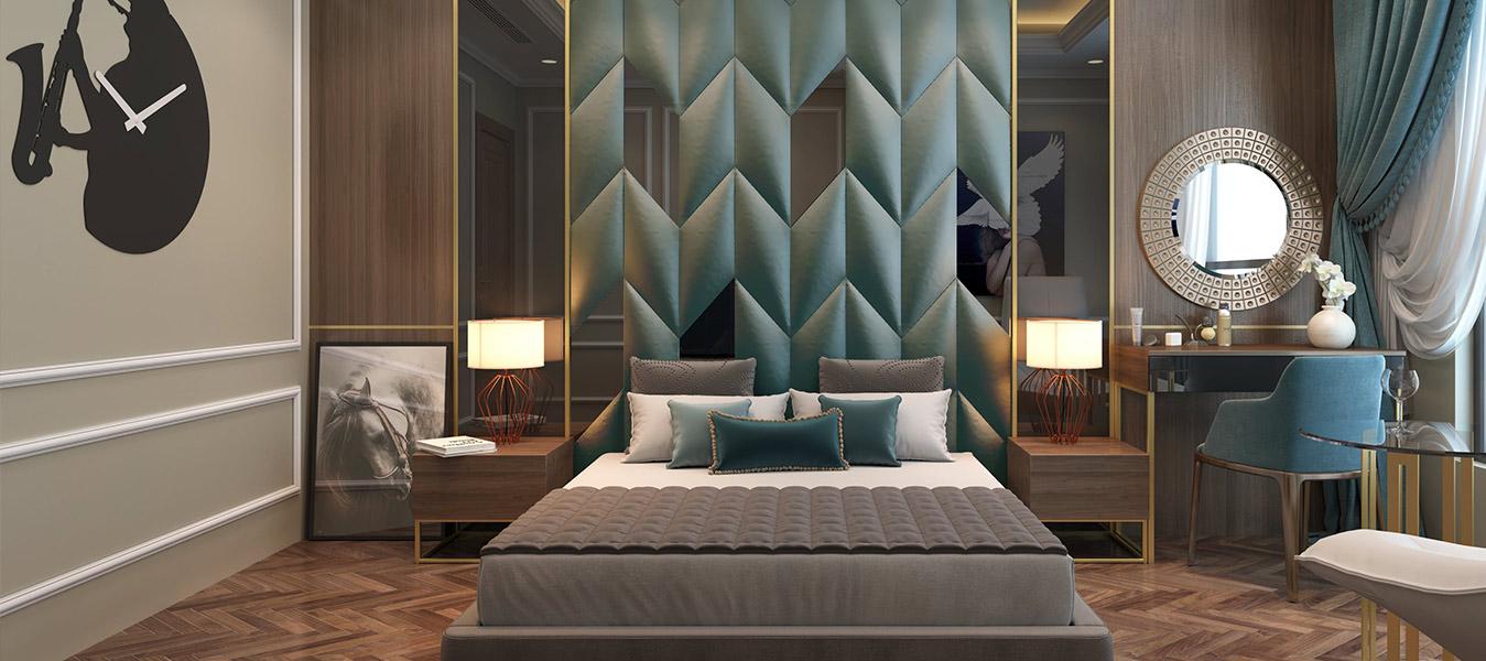 yatak odası duvar dekorasyonu